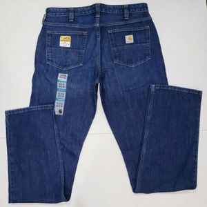 New Carhartt Force Extremes RelaxedFit Jeans 33x36